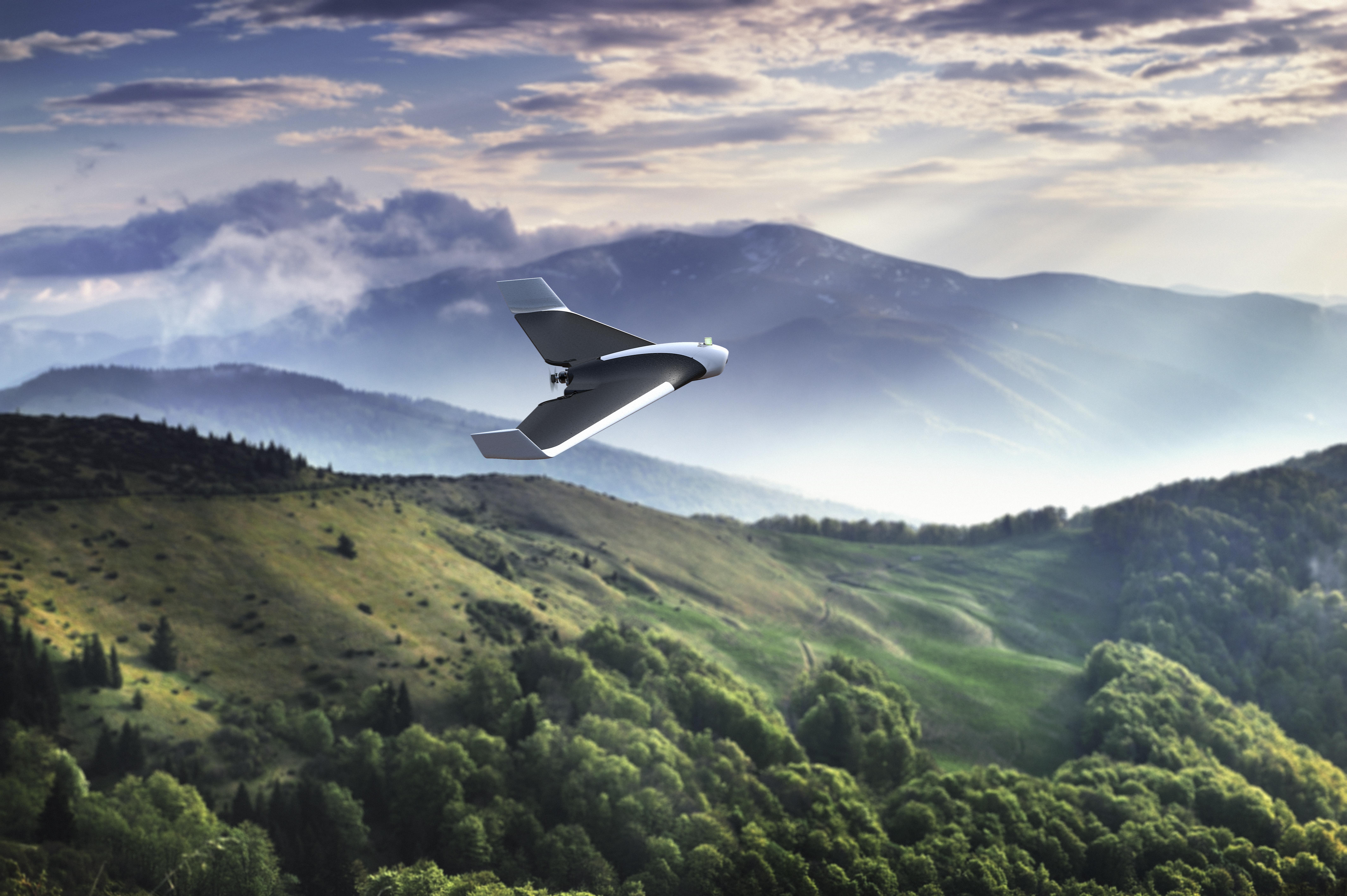 фотографии гор с дрона молодоженов